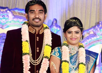 Santosh Pavan Weds Anjali Photos