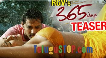 RGV Unveils Erotic Teaser Of 365 Days- Telugu