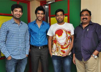 Ram Leela movie team at Radio Mirchi