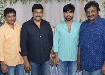Ram Charan and Srinu Vaitla Movie Opening