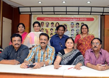 Jayasudha Panel for MAA 2015 Press Meet
