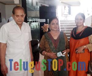 Super Star Krishna's Family Supports Jayasudha's panel Photo Image Pic