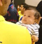 Pic Talk : Dhoni's daughter stadium debut