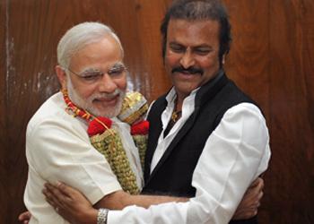 Mohan Babu Family Meets Modi