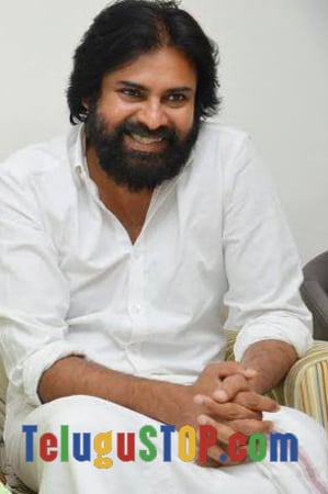 Pawan Kalyan New Look With Long and Thick Bread