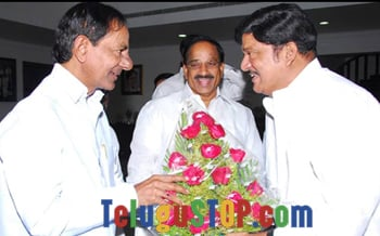 MAA chief meets TRS chief