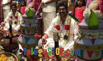 Spotted: Rana Daggubati's wedding