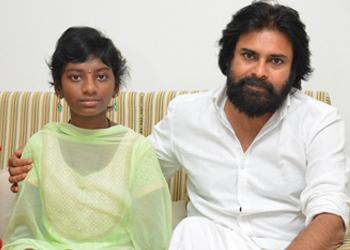 Srija Family Meets Pawan Kalyan