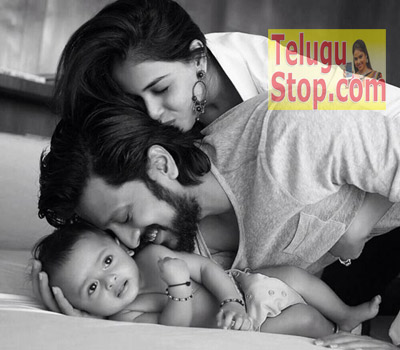 Spotted: Riteish & Genelia's adorable pic