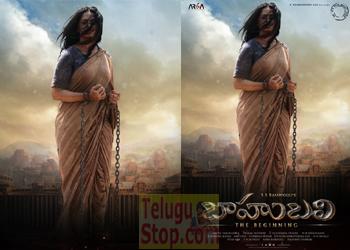 Third poster: Anushka stunning look as Devasena