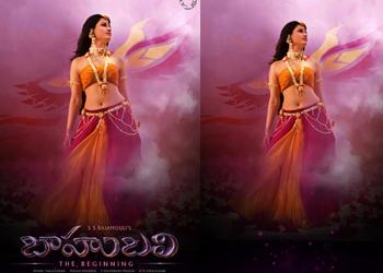 Bahubali Avanthika Still and Poster-Bahubali Avanthika Still And Poster---