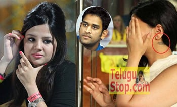 Sakshi Dhoni spotted with 'Mahi' Tattoo!