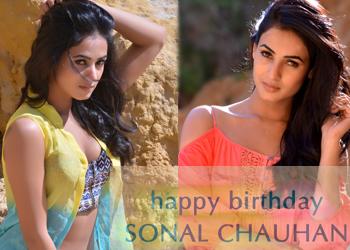 Sonal Chauhan Birthday Pics-Sonal Chauhan Birthday Pics---