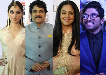 Celebs at 62nd Filmfare Awards South Photos