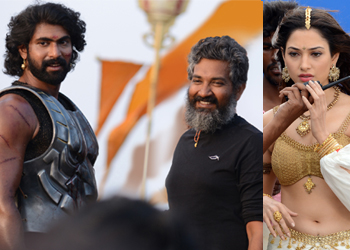 Baahubali Movie New Working Stills