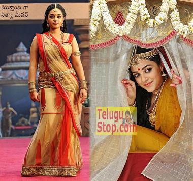 Nitya's First Look in Rudramadevi-,,Telugu Film,Nithya Menon Navel Rudramadevi,Nithya Menon Hot Rudramadevi