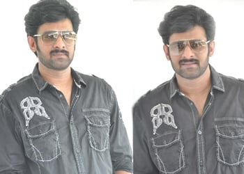 Prabhas Interview Pics