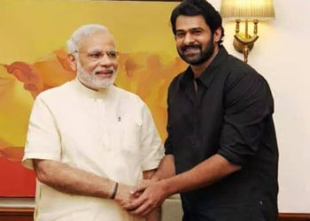 Prabhas Meets Top Politicians Photos