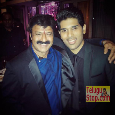 Pic Talk: Allu Sirish thanked Balayya Photo Image Pic