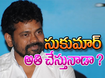 NTR-Sukumar Movie Going Over Budget..?