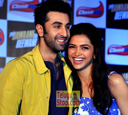 Ranbir and Deepika in a very hot scene Photo Image Pic