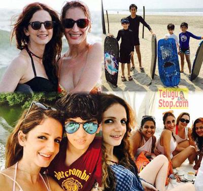Star Hero Wife Spotted With Bikini In Goa Photo Image Pic