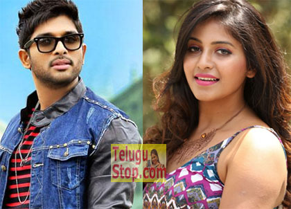 Allu Arjun Gives Shock To Anjali Photo,Image,Pics-