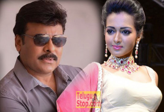 Chiranjeevi to dance with hot lady