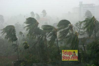 Cyclone effect on Telugu states AP and Telangana Heavy Rains