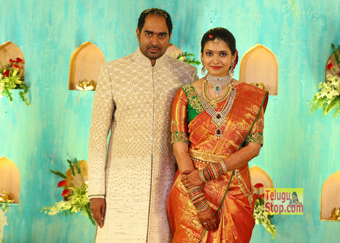 Director krish Engagement Photos