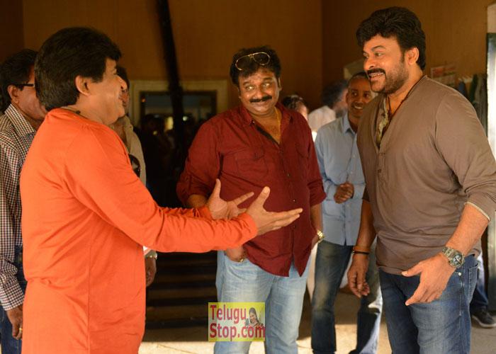 Chiranjeevi 150th Movie Working Stills-Chiranjeevi 150th Movie Working Stills---