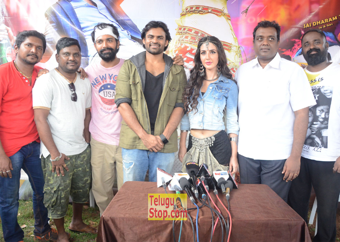 Thikka Song Shooting Coverage Photos