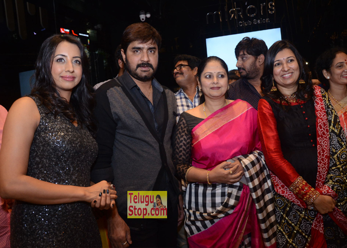 Mirrors Club Salon Launch at Banjara Hills
