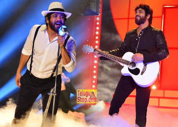 Nagarjuna Turns Singer