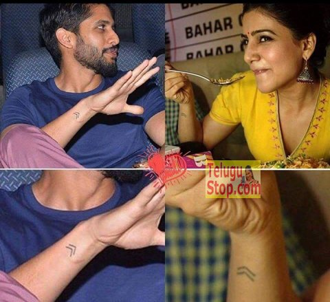 What is the meaning of Samantha and Nagachaitanya's tatoo ?-