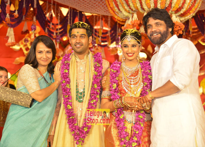 Nimmagadda Prasad Daughter Wedding In Akkineni Nagarjuna Family