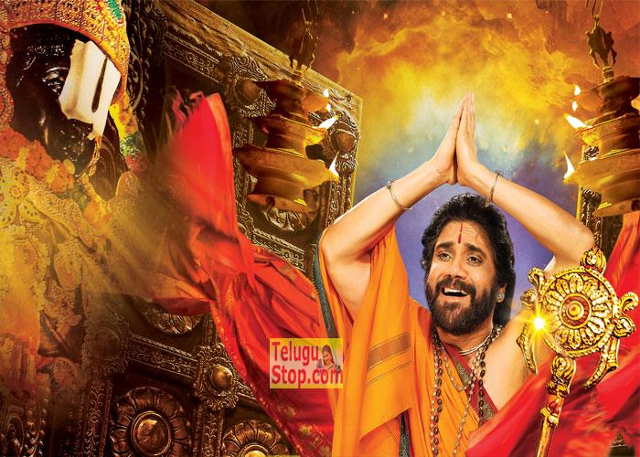Om Namo Venkatesaya Nagarjuna Look-Om Namo Venkatesaya Nagarjuna Look---