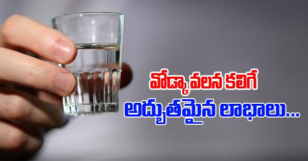Surprising Advantages Of Vodka- Telugu