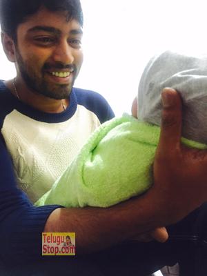 Allari Naresh becomes a father