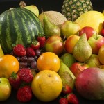 Fruits that provide good fiber content Guava, Orange, Apple Strawberry