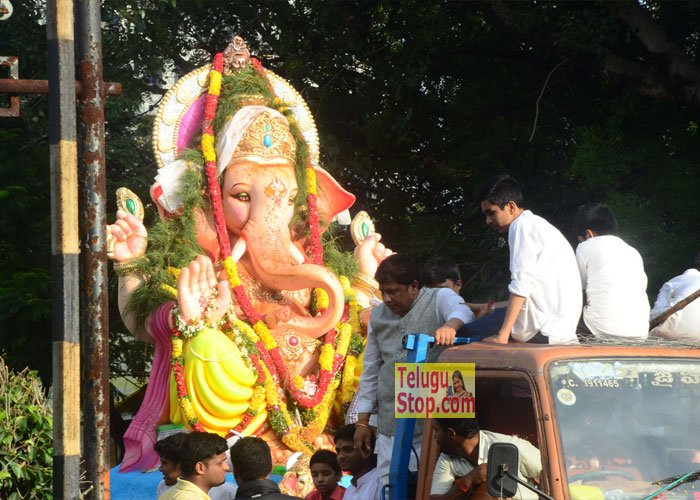 Ganesh Nimajjanam 2016 Photos In Hyderabad
