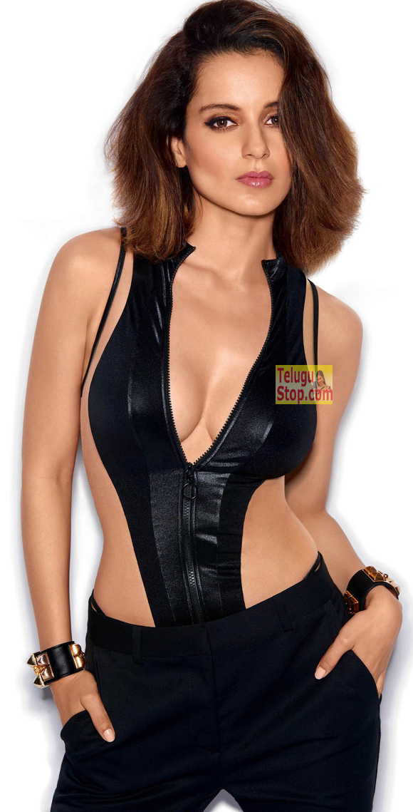 Kangana Ranaut, GQ Woman of the year, GQ magazine, tempting cleavage show,