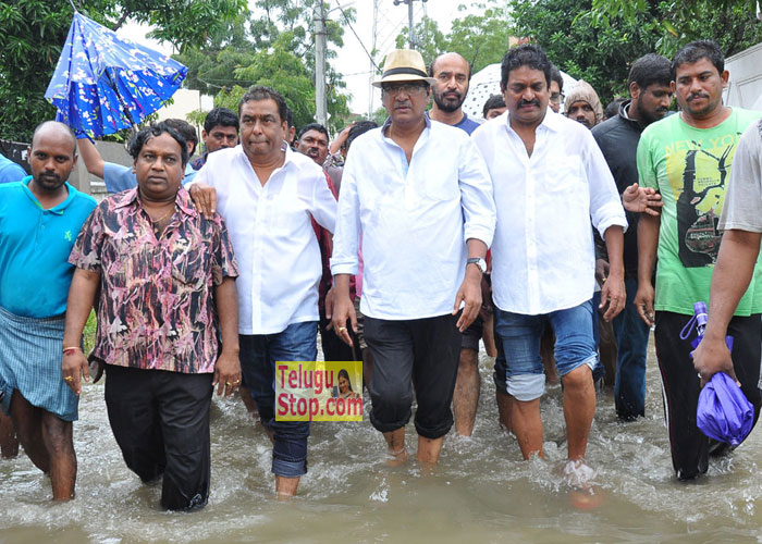 MAA Association Flood Relief Event In Rajendra Prasad