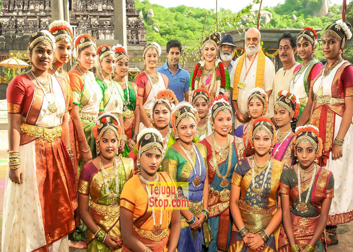 Om Namo Venkatesaya Working Stills-Om Namo Venkatesaya Working Stills- Telugu Movie First Look posters Wallpapers Om Namo Venkatesaya Working Stills---