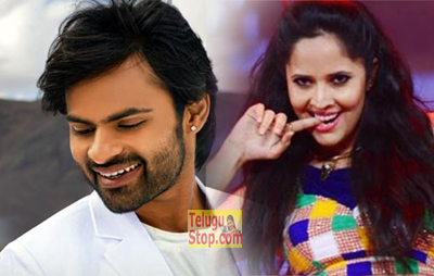 Anchor Anasuya Item song with Sai Dharam Tej Winner Film
