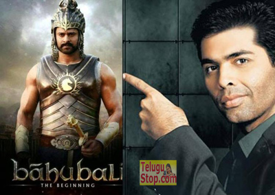 Baahubali Is A Threat To Bollywood - Karan Johar Baahubali Part2 Karan Rajamouli Photo,Image,Pics-
