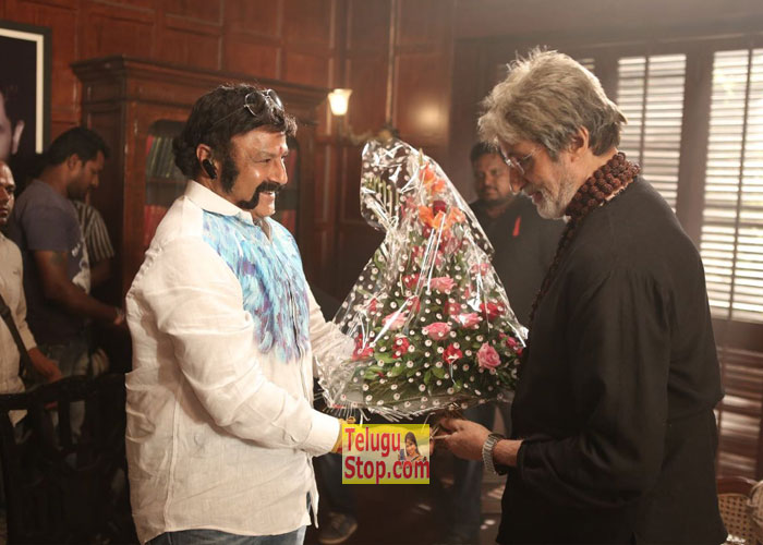 Balakrishna Meets Big B Visits Amitabh Ram Gopal Varma Download Online HD Quality