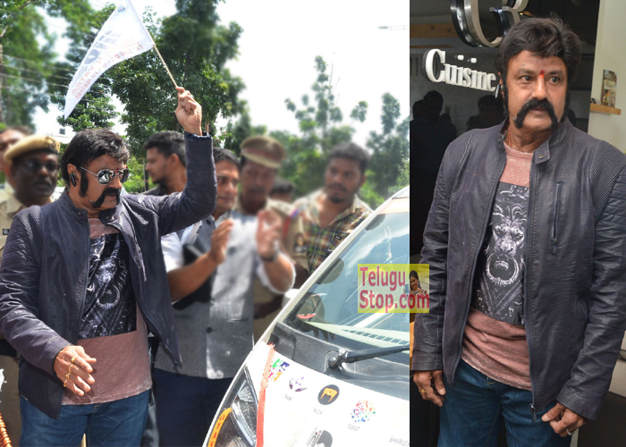 Design Yatra -The Car Road Show Inauguration by Balakrishna