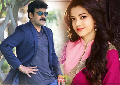 It's romance time between Chiranjeevi and Kajal