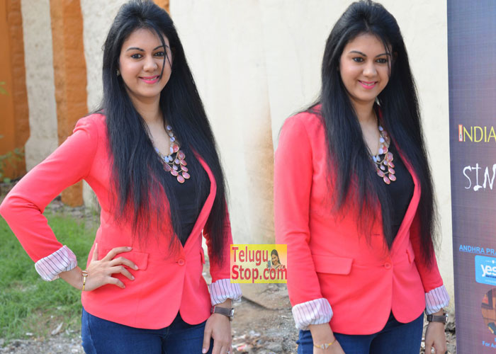 Heroine Kamna Jethmalani Photos At Indian Entertainment League Logo Launch Images Latest Stills New Gallery Download Online HD Quality